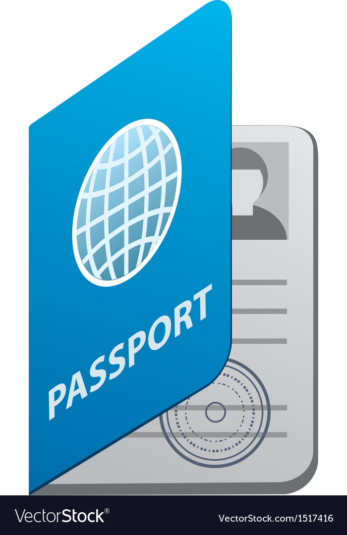 Passport vector | Price: 3 Credit (USD $3)