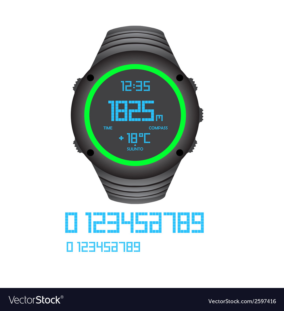 Watch vector | Price: 1 Credit (USD $1)