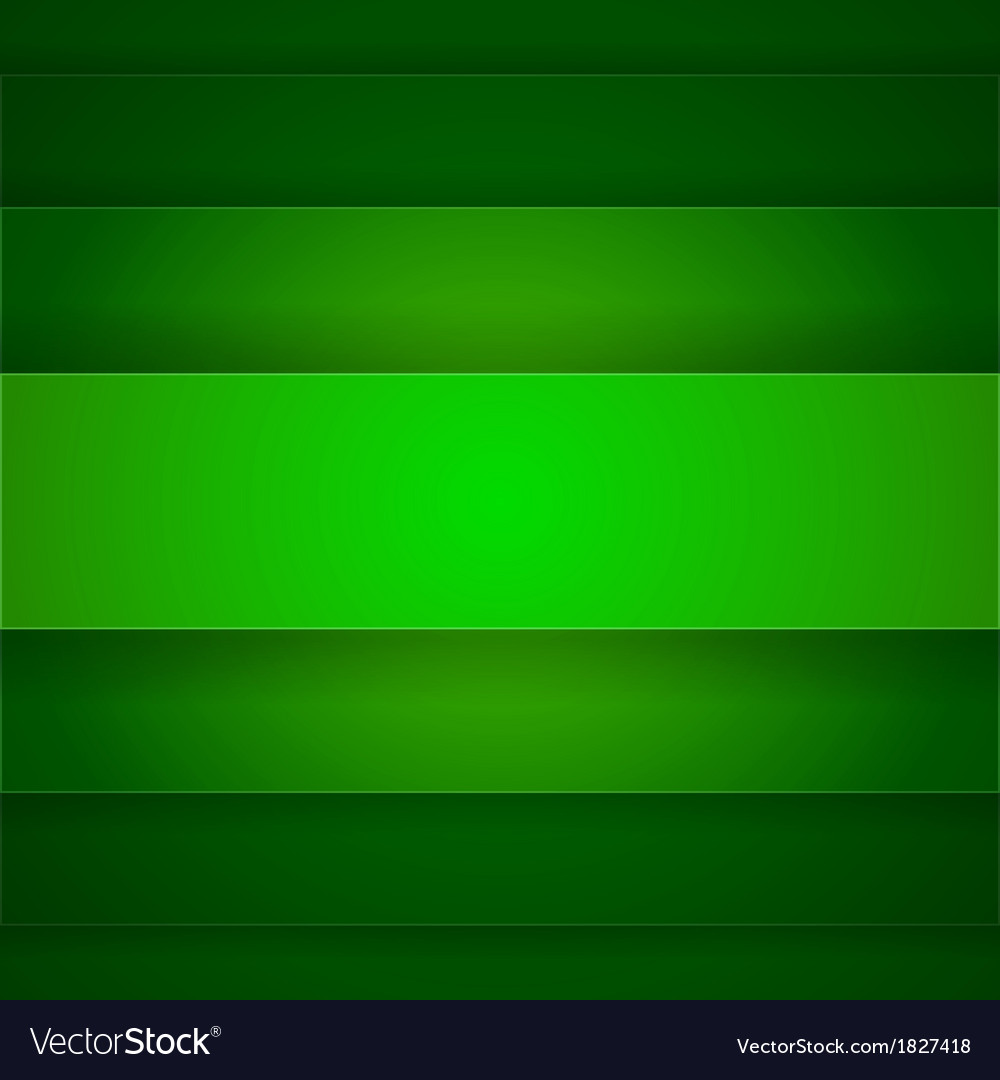 Abstract background with green paper layers vector | Price: 1 Credit (USD $1)