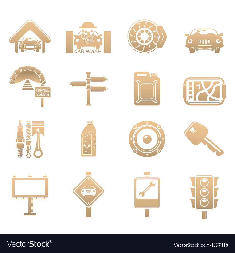 Cars icons vector | Price: 1 Credit (USD $1)