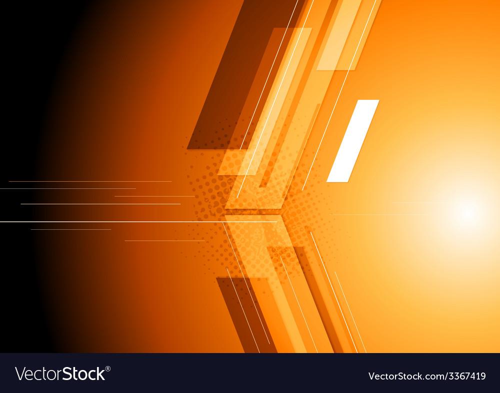 Technical dark corporate background vector | Price: 1 Credit (USD $1)