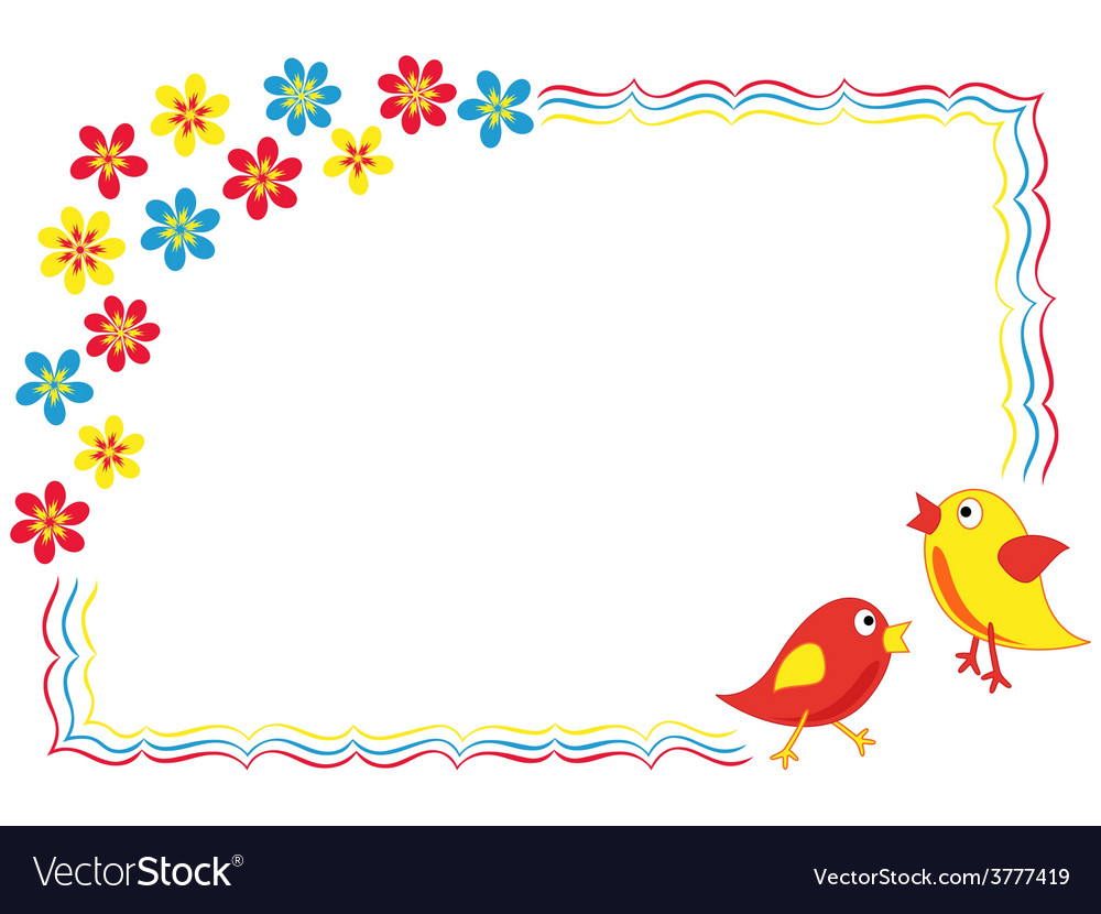 Valentine greeting card with birds vector   Price: 1 Credit (USD $1)