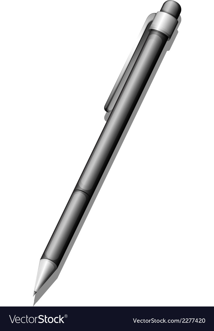 A topview of a ballpen vector | Price: 1 Credit (USD $1)