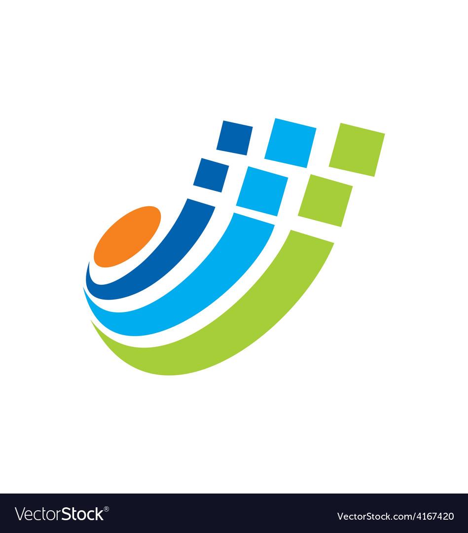 Digital technology logo vector   Price: 1 Credit (USD $1)