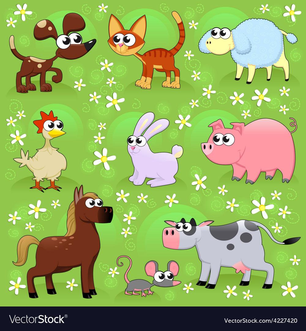 Farm animals vector   Price: 3 Credit (USD $3)