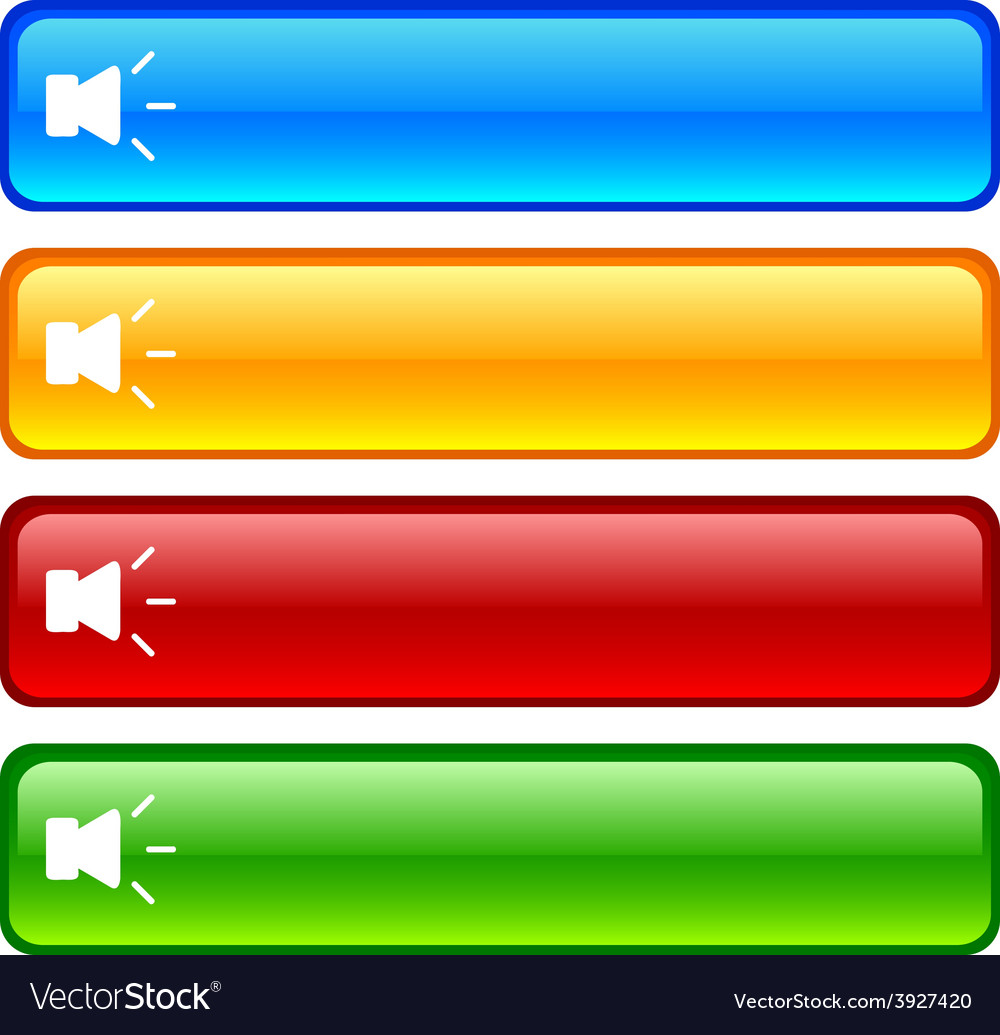 Sound buttons vector   Price: 1 Credit (USD $1)