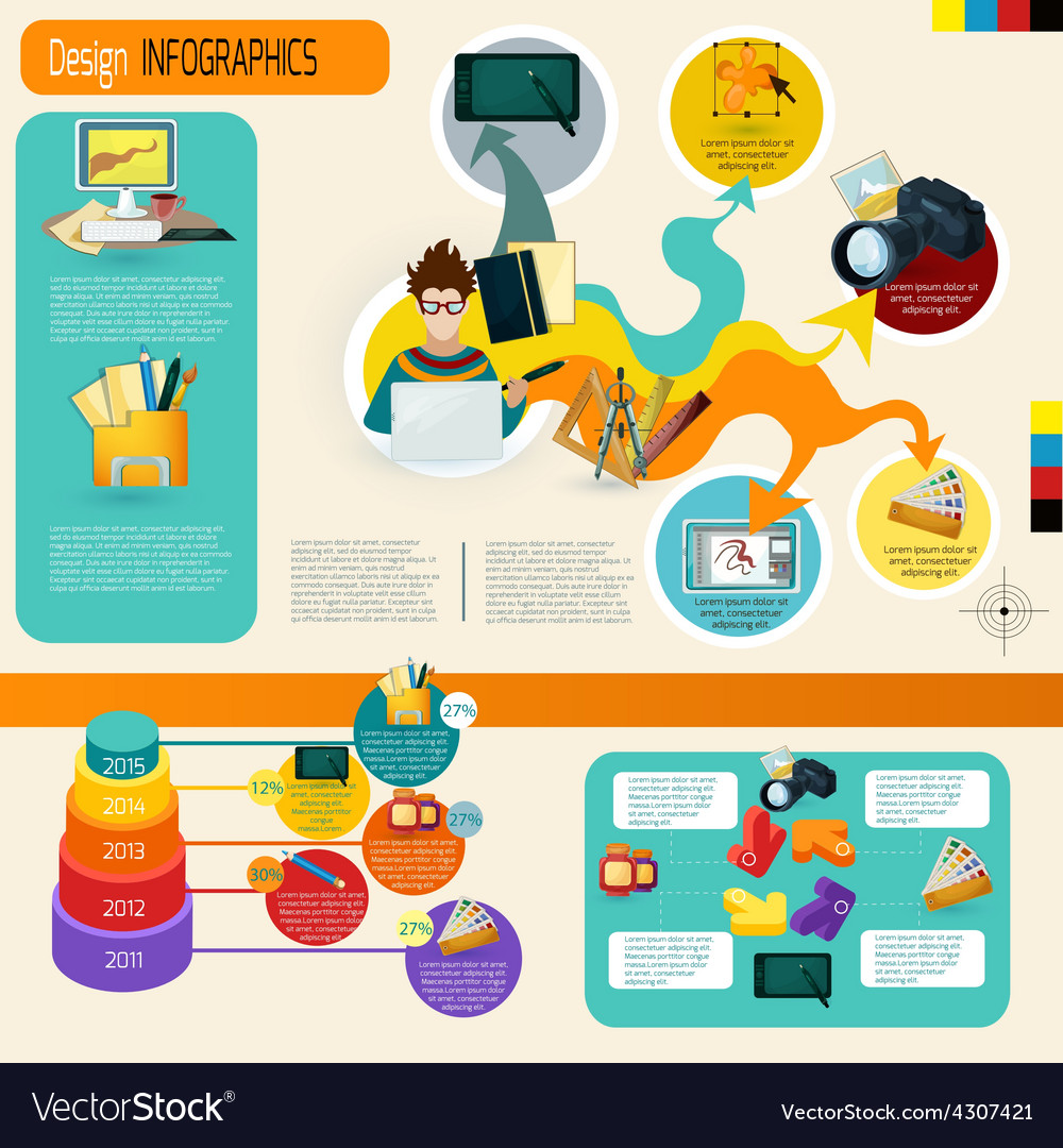 Design infographics set vector   Price: 1 Credit (USD $1)