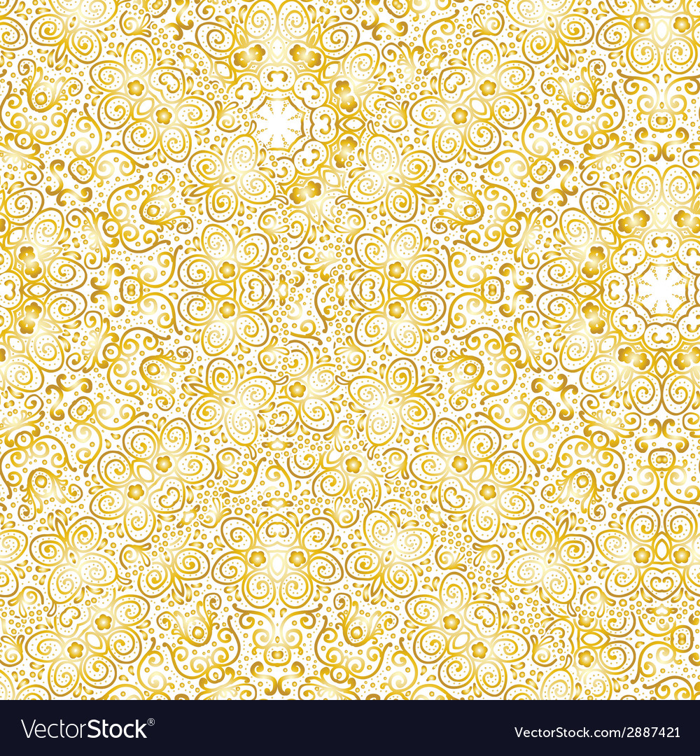 Wallpaper a seamless background gold texture vector | Price: 1 Credit (USD $1)