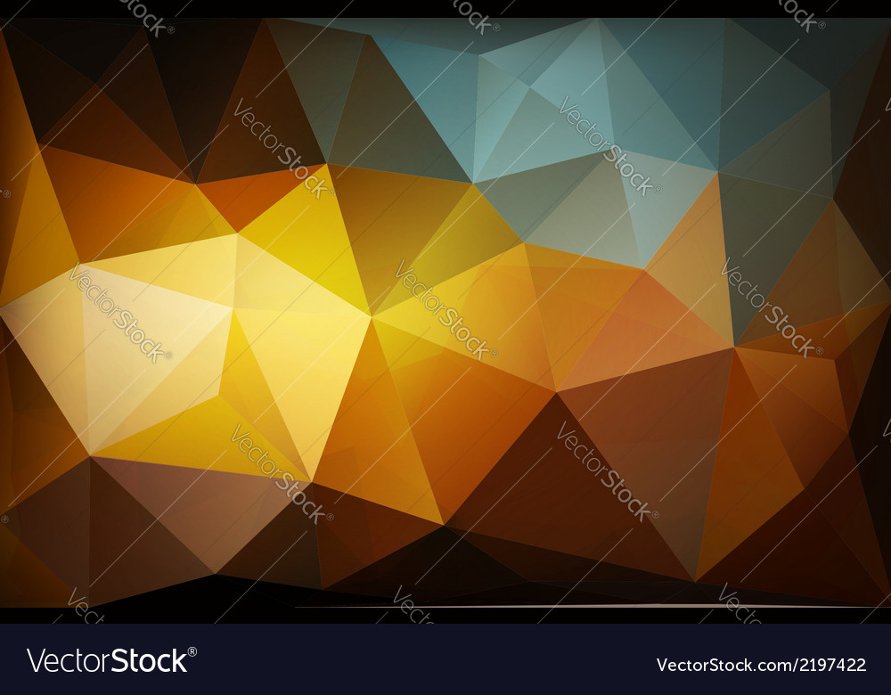 Colorful polygon abstract background vector | Price: 1 Credit (USD $1)