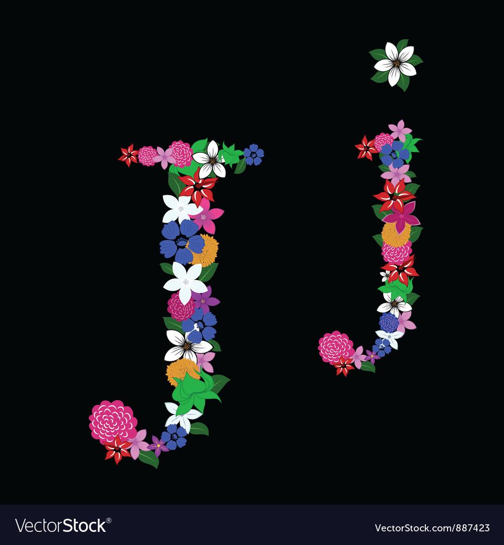 J letter vector | Price: 1 Credit (USD $1)