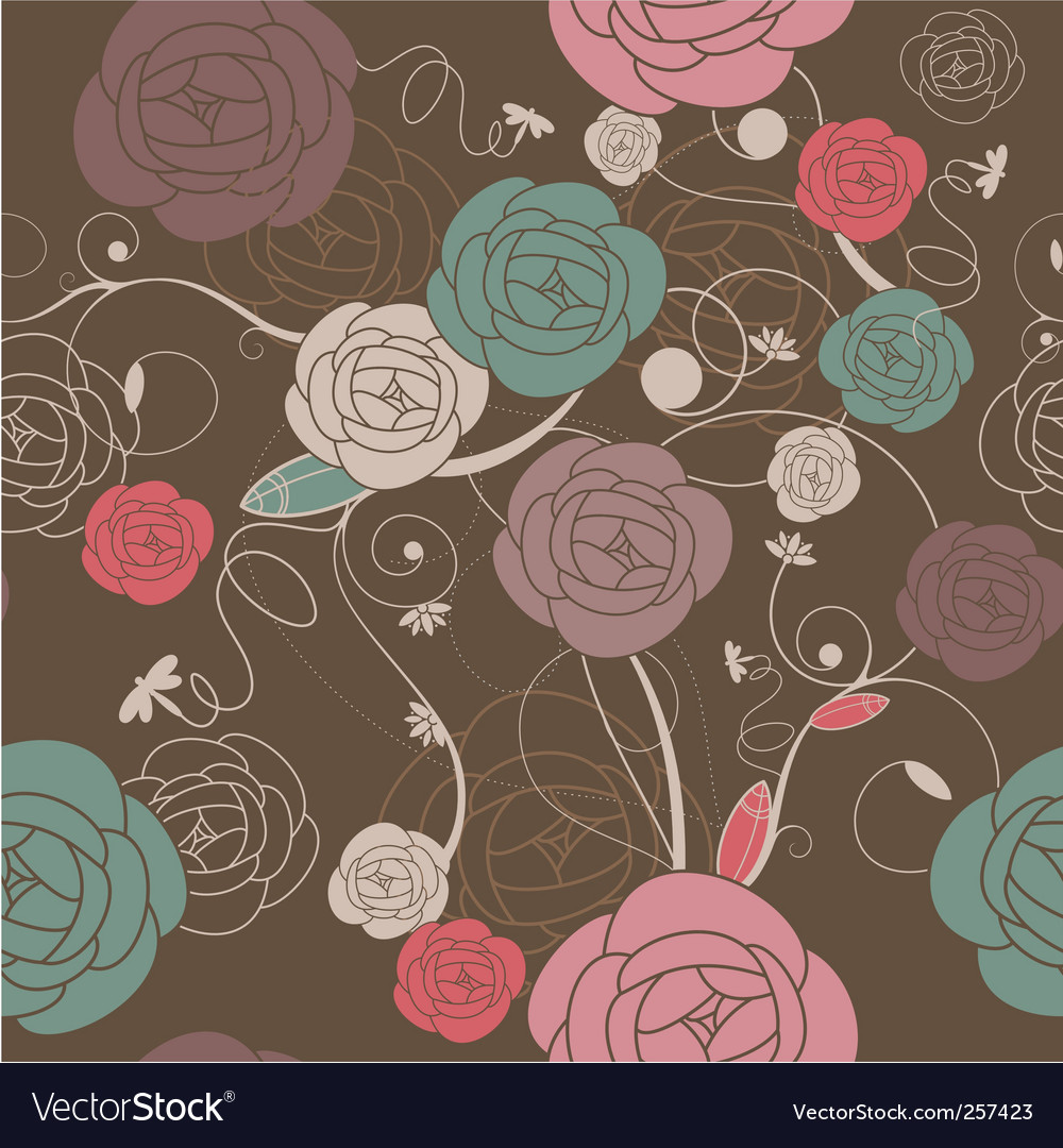 Romantic wallpaper vector | Price: 1 Credit (USD $1)