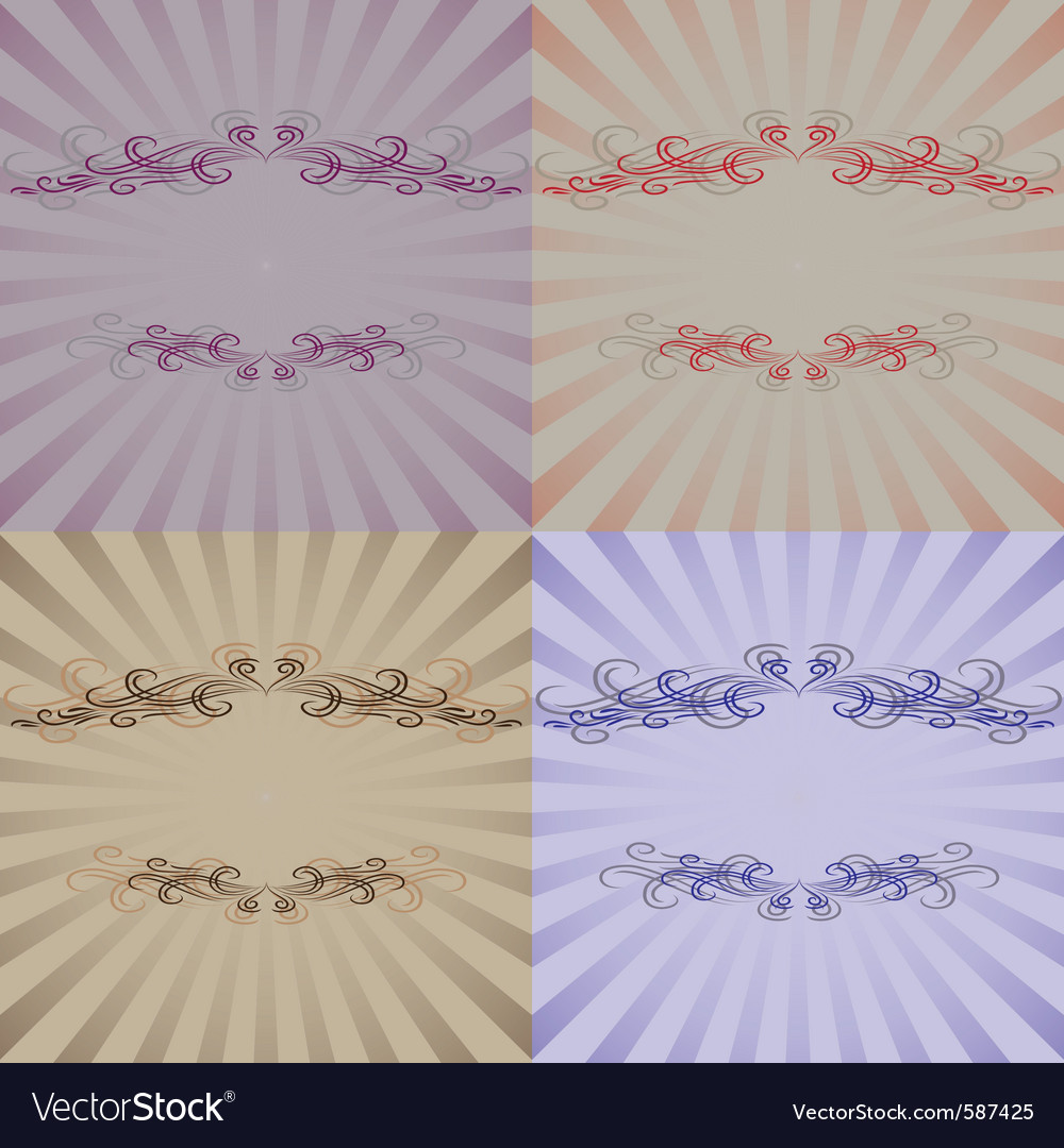 Decoration frame vector | Price: 1 Credit (USD $1)