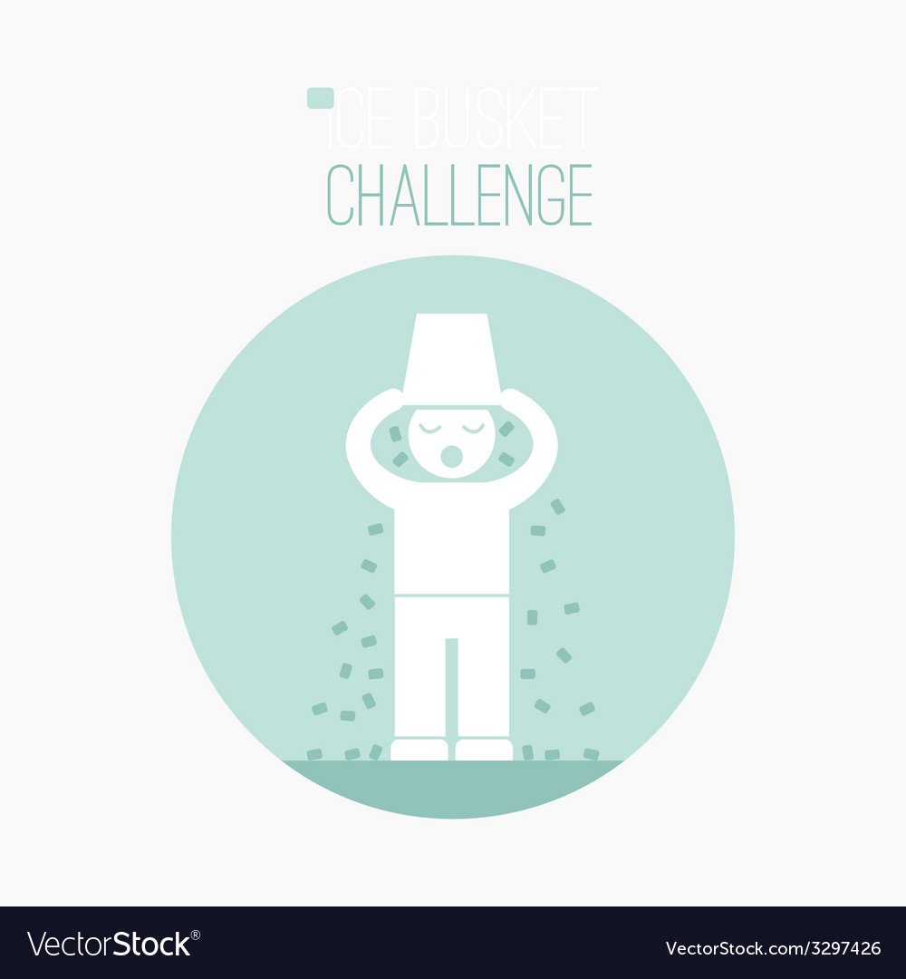 Als challenge concept vector | Price: 1 Credit (USD $1)