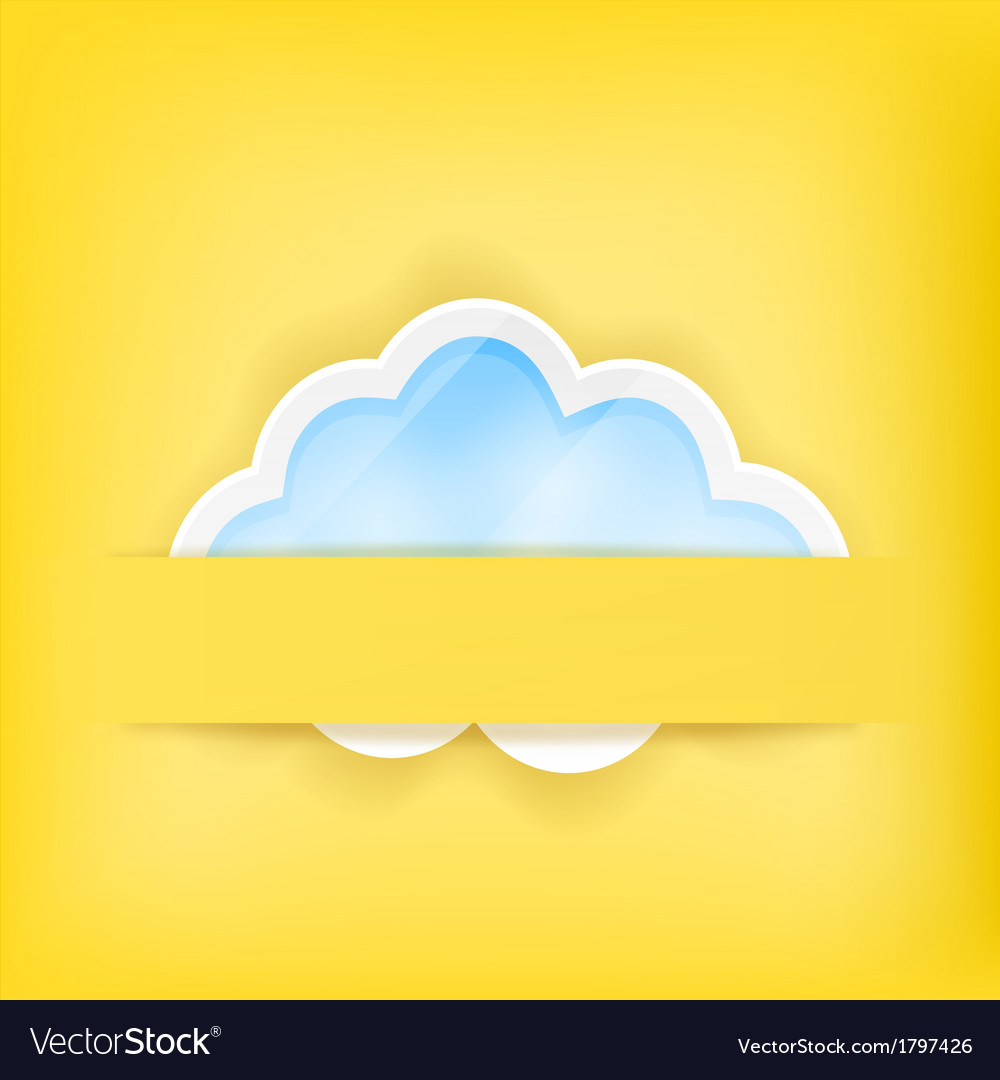Cloud background1a vector | Price: 1 Credit (USD $1)