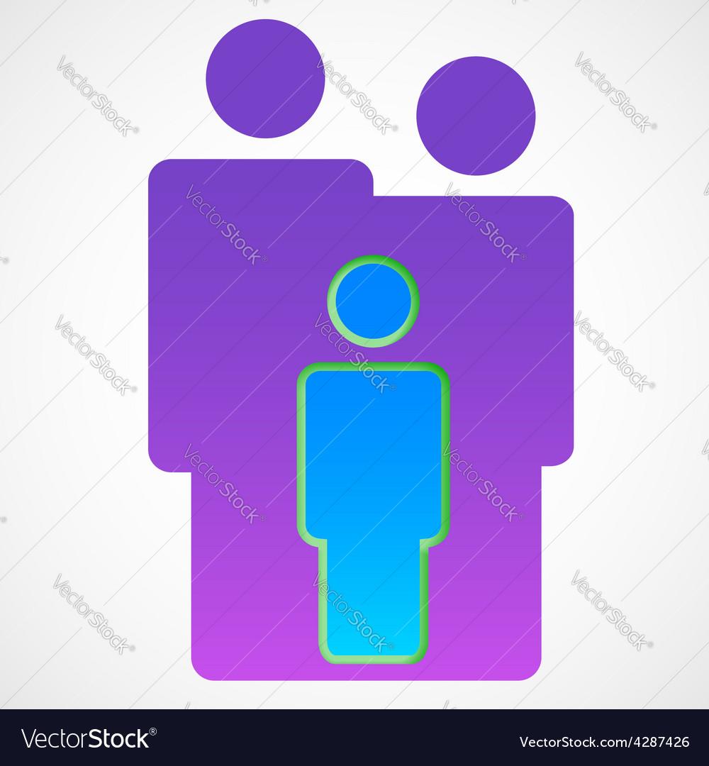 Family symbol vector | Price: 1 Credit (USD $1)