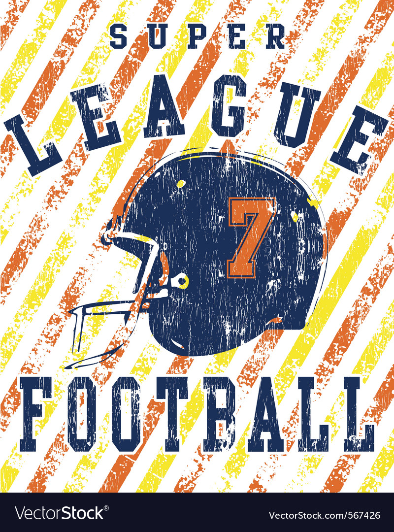 Football league vector | Price: 1 Credit (USD $1)