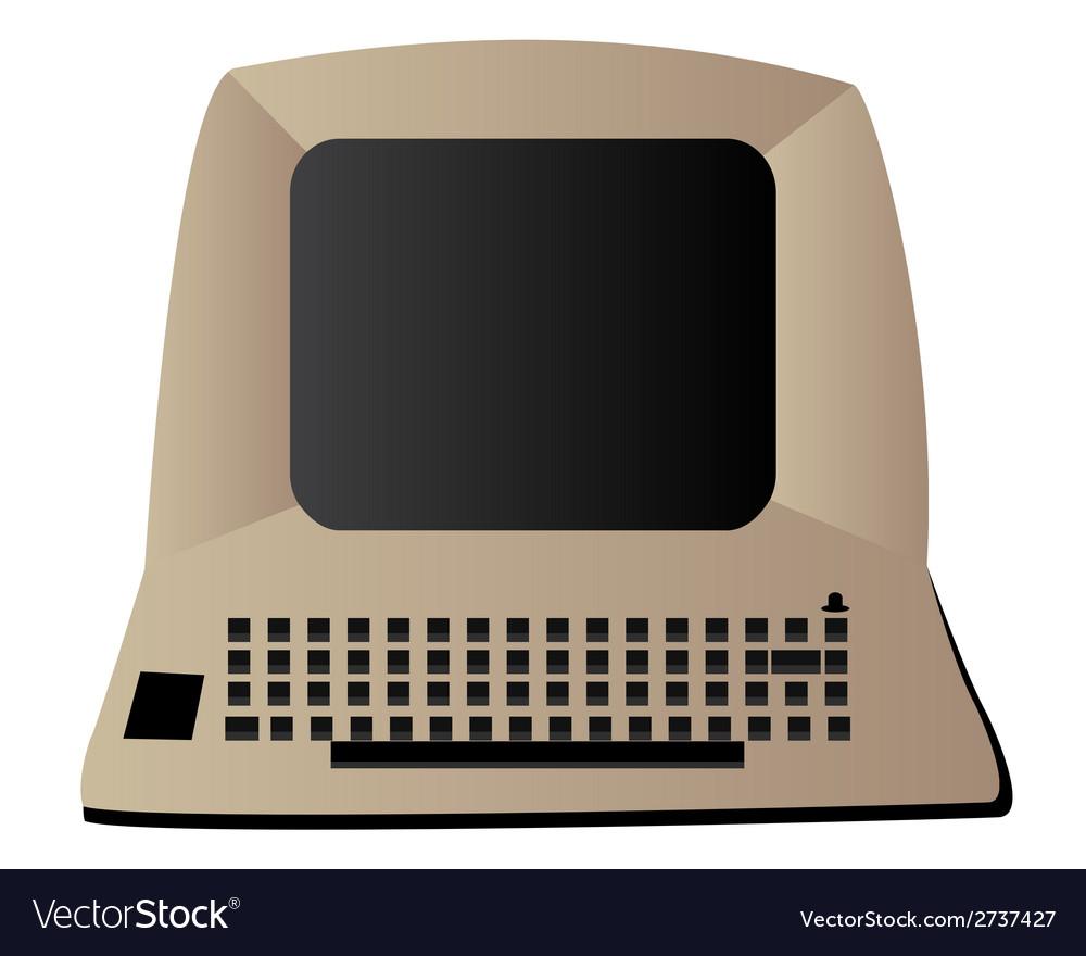 Computer vector | Price: 1 Credit (USD $1)