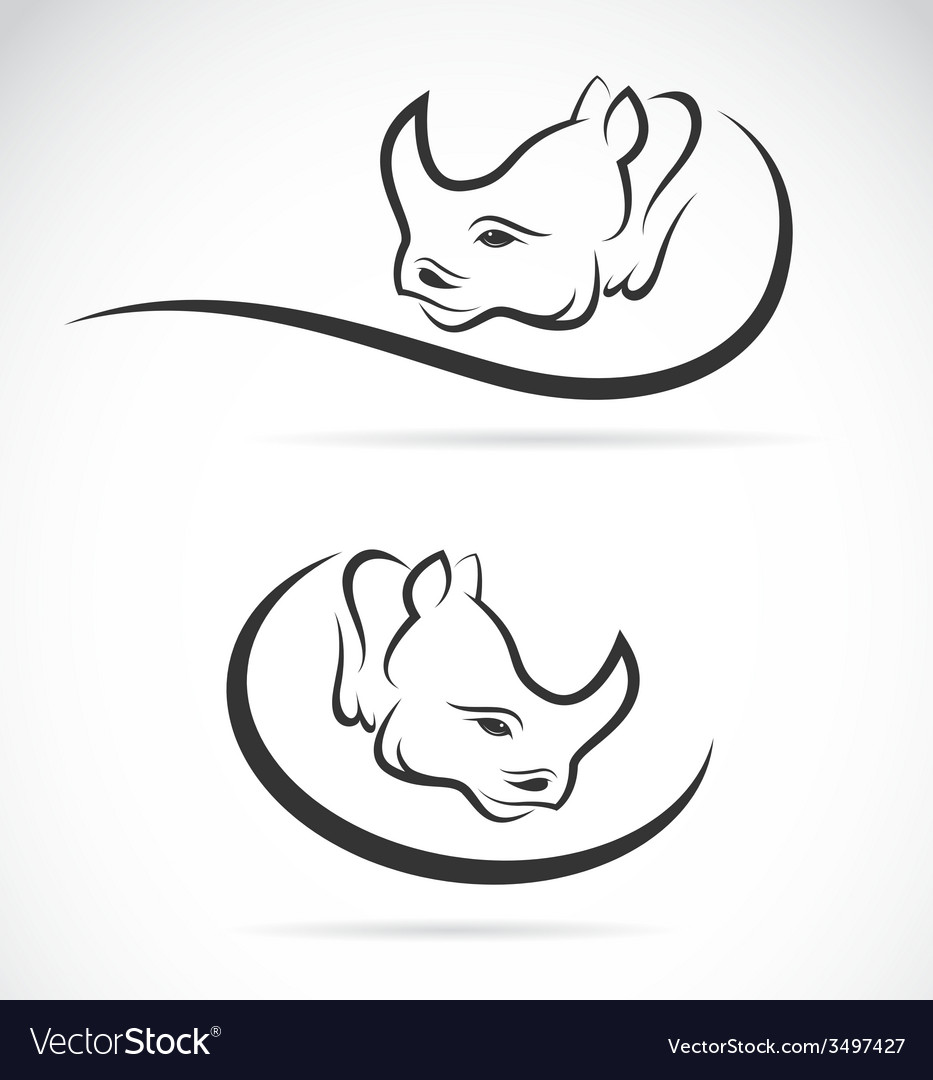 Rhino design vector | Price: 1 Credit (USD $1)