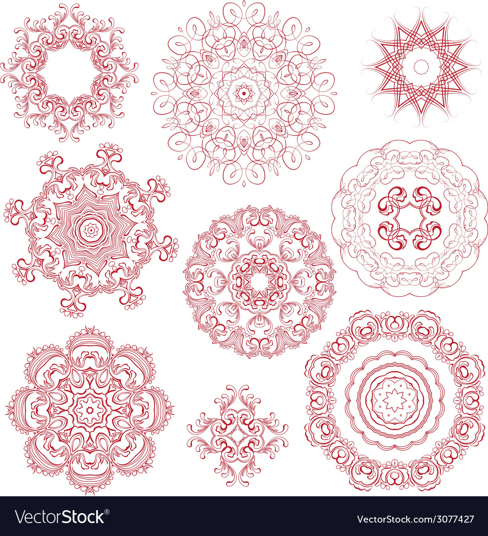 Set circle 1color 380 vector | Price: 1 Credit (USD $1)