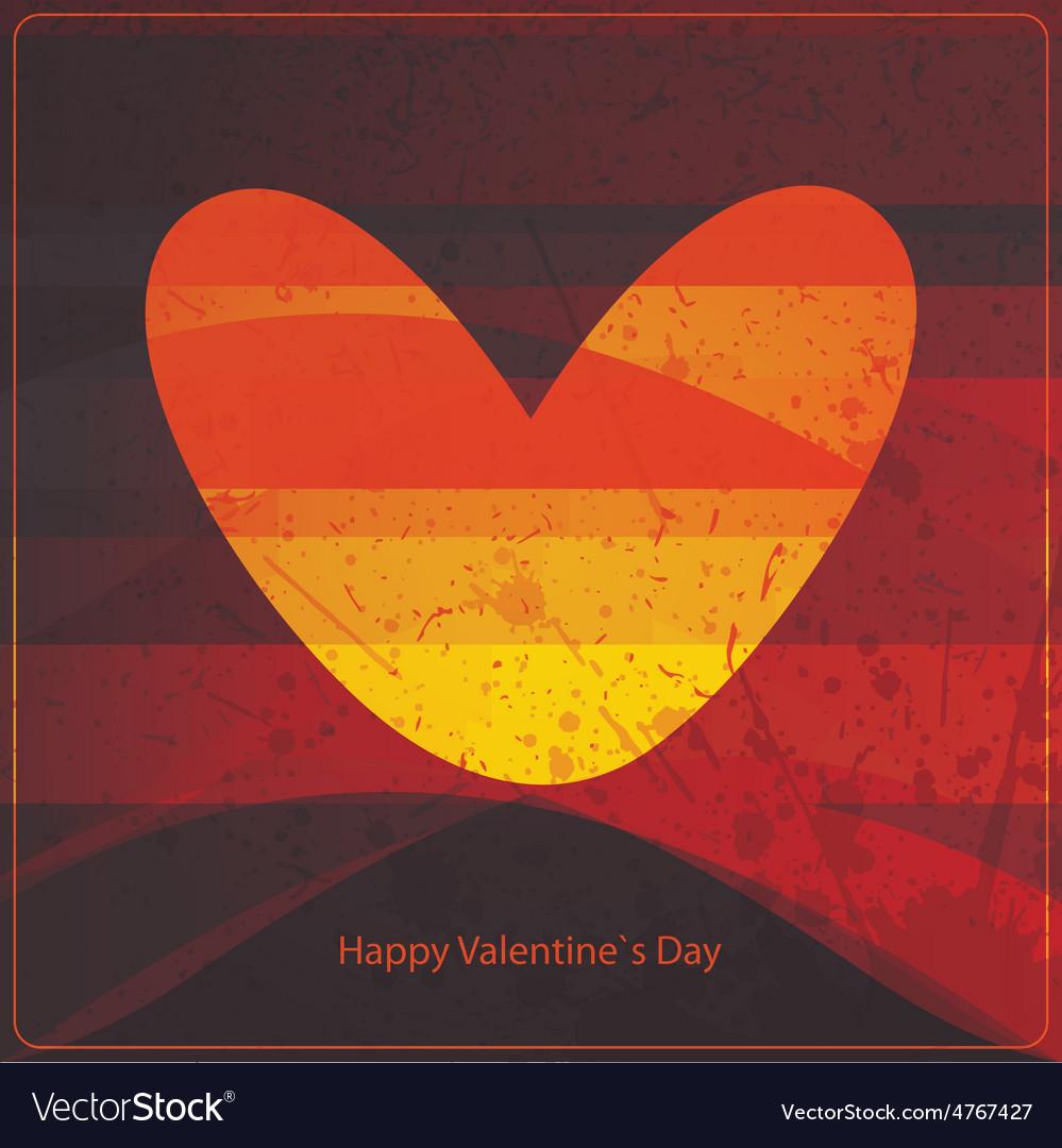 Valentine day card vector   Price: 1 Credit (USD $1)