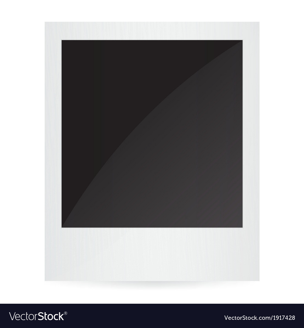 Isolated photo frames on white background vector | Price: 1 Credit (USD $1)