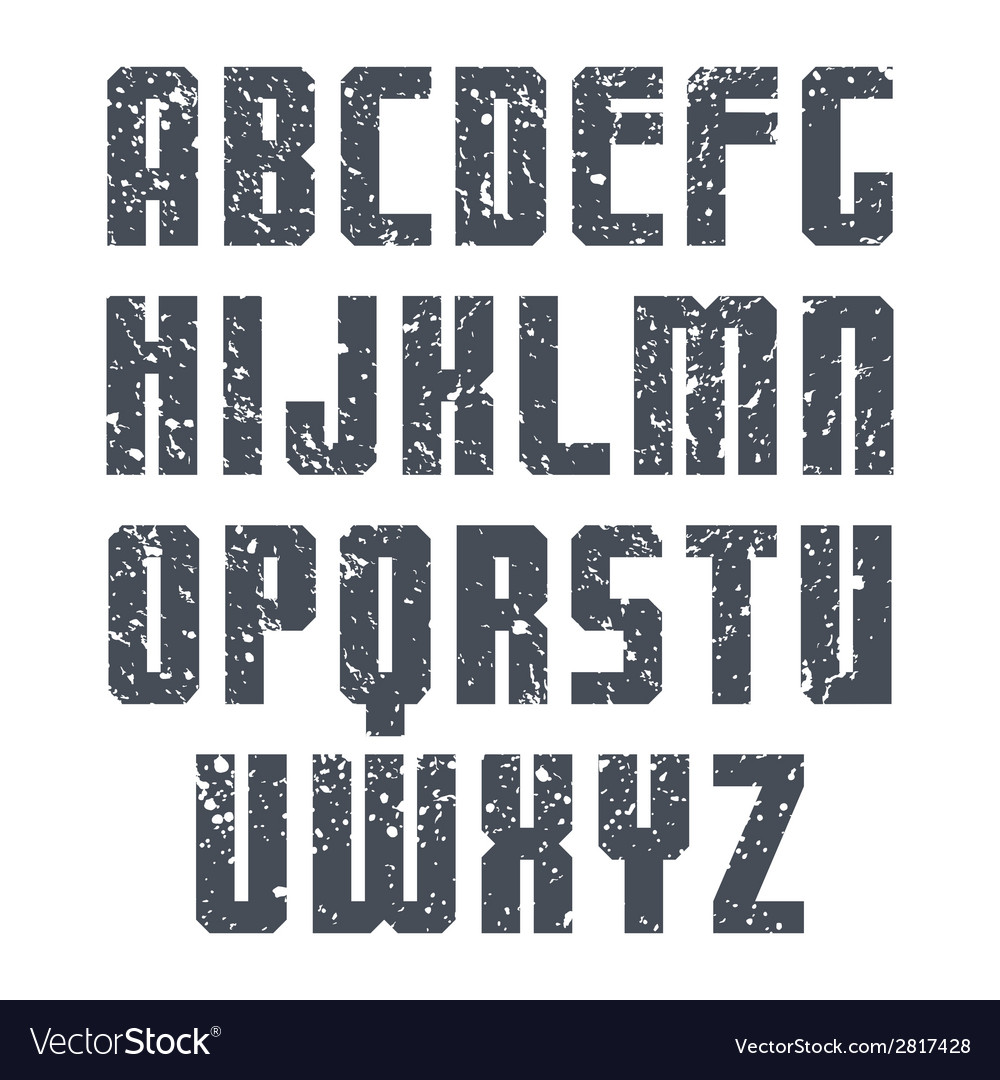 Sans serif font sport vector | Price: 1 Credit (USD $1)