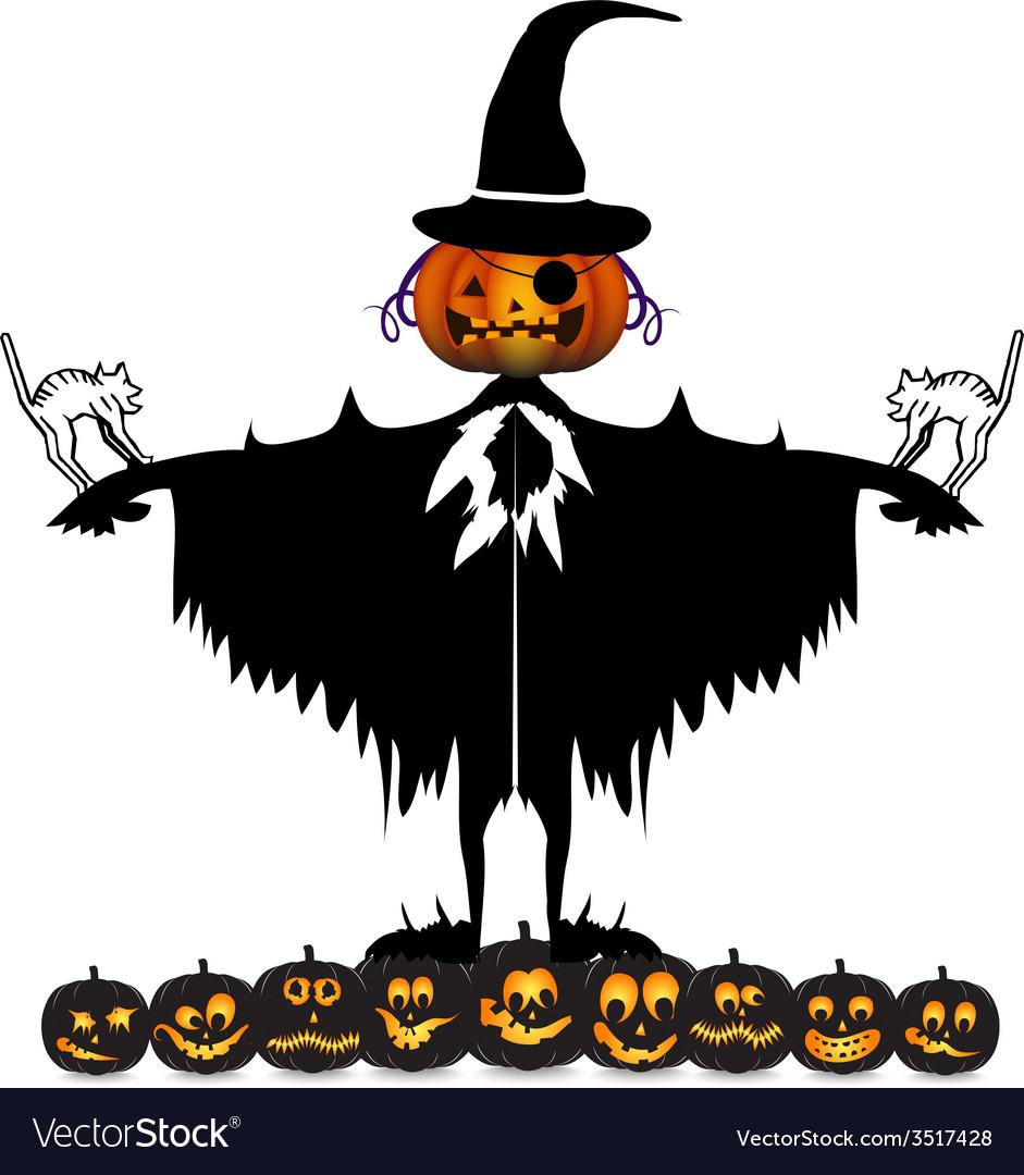 Scarecrow vector | Price: 1 Credit (USD $1)