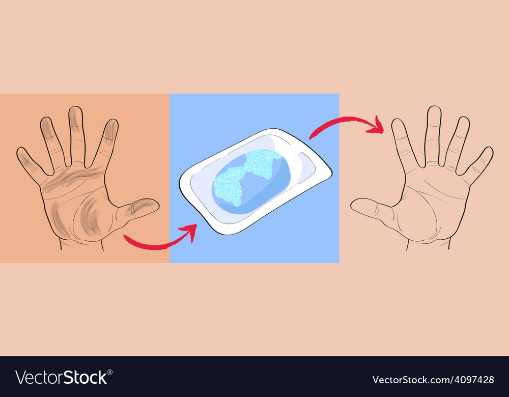 Wash your hands vector | Price: 1 Credit (USD $1)