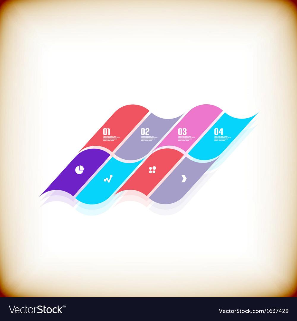 Modern geometrical banner design template vector | Price: 1 Credit (USD $1)