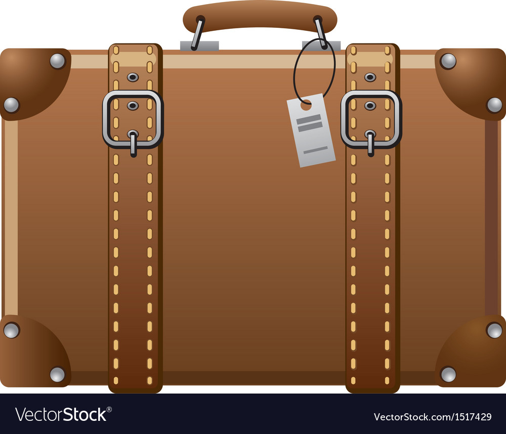 Suitcase vector | Price: 3 Credit (USD $3)