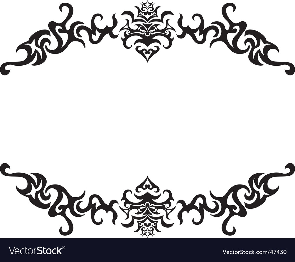 Gothic frame vector | Price: 1 Credit (USD $1)