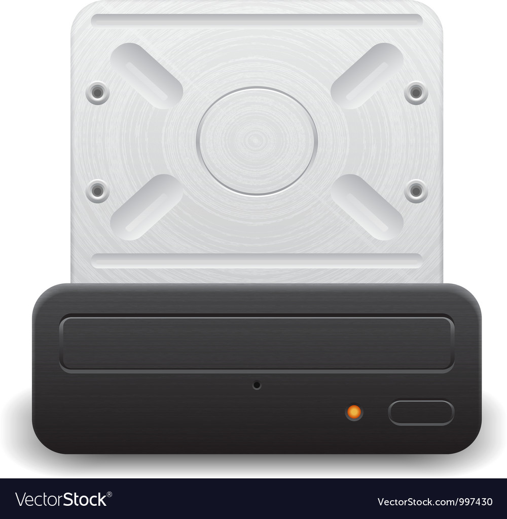 Icon for optical drive vector | Price: 1 Credit (USD $1)