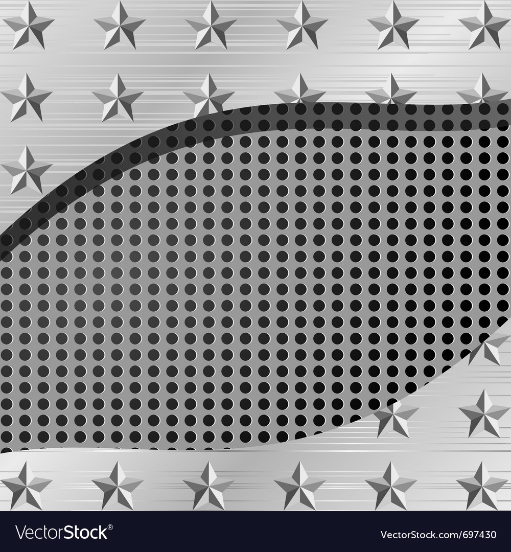 Metal plate background vector   Price: 1 Credit (USD $1)