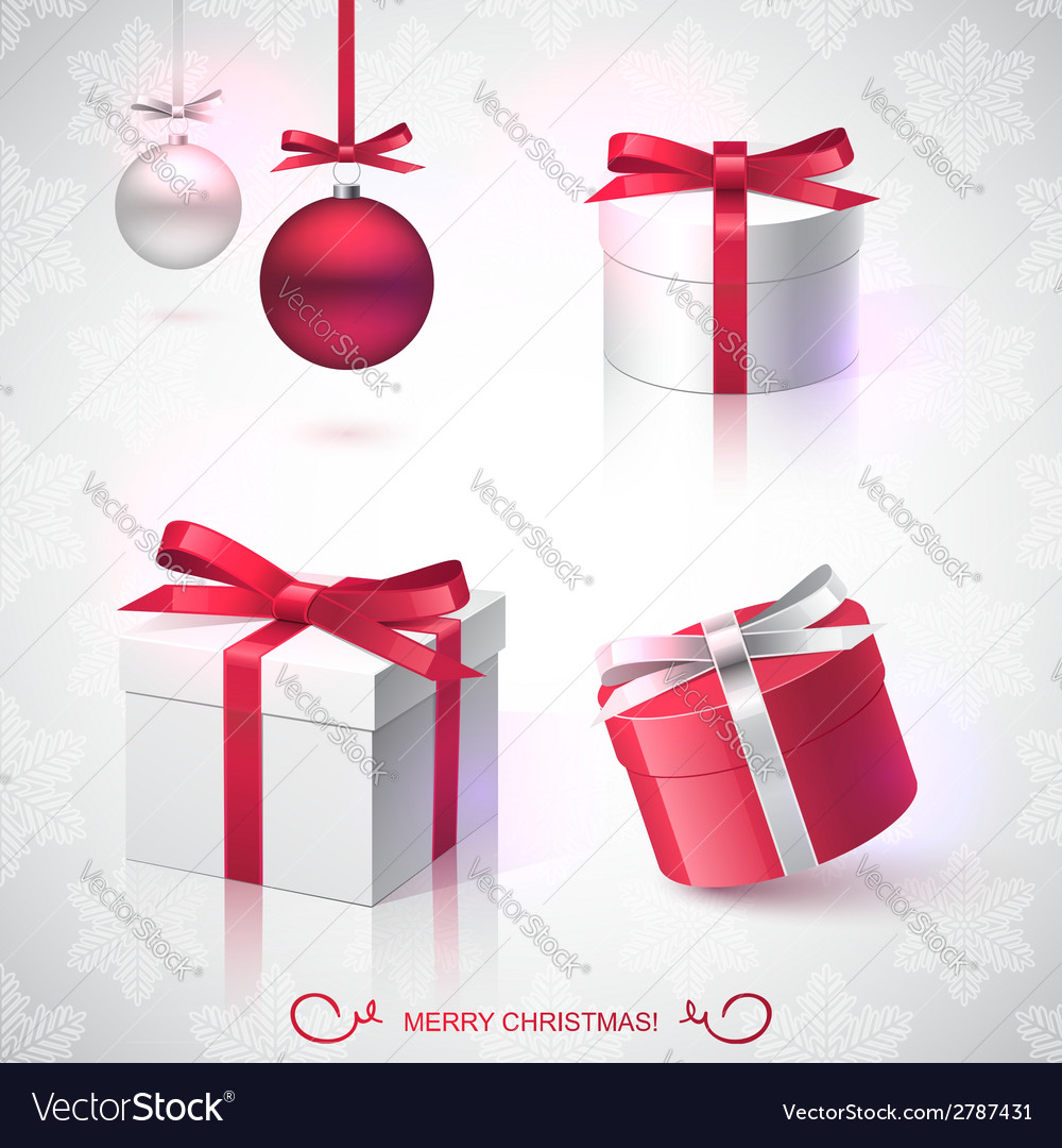 Christmas gifts vector | Price: 1 Credit (USD $1)