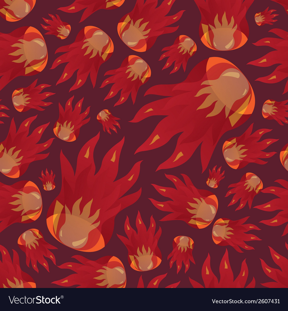 Fire pattern eps10 vector | Price: 1 Credit (USD $1)