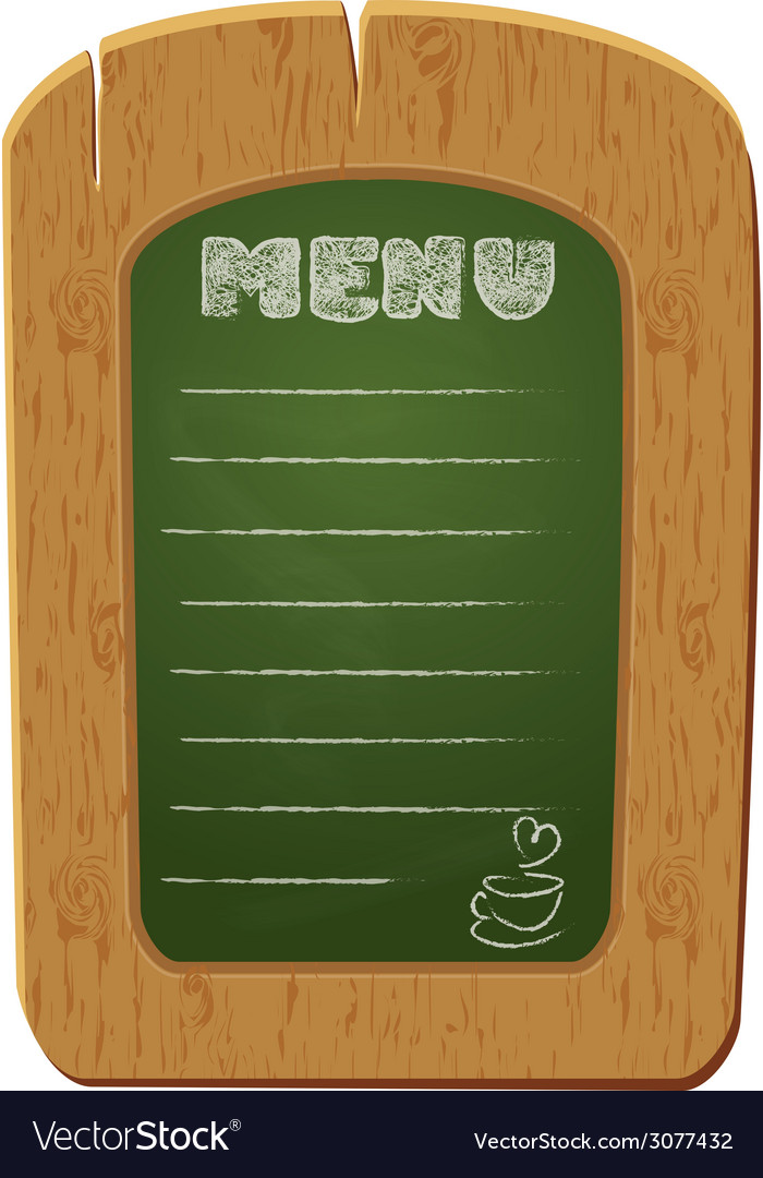 Board menu 380 vector | Price: 1 Credit (USD $1)