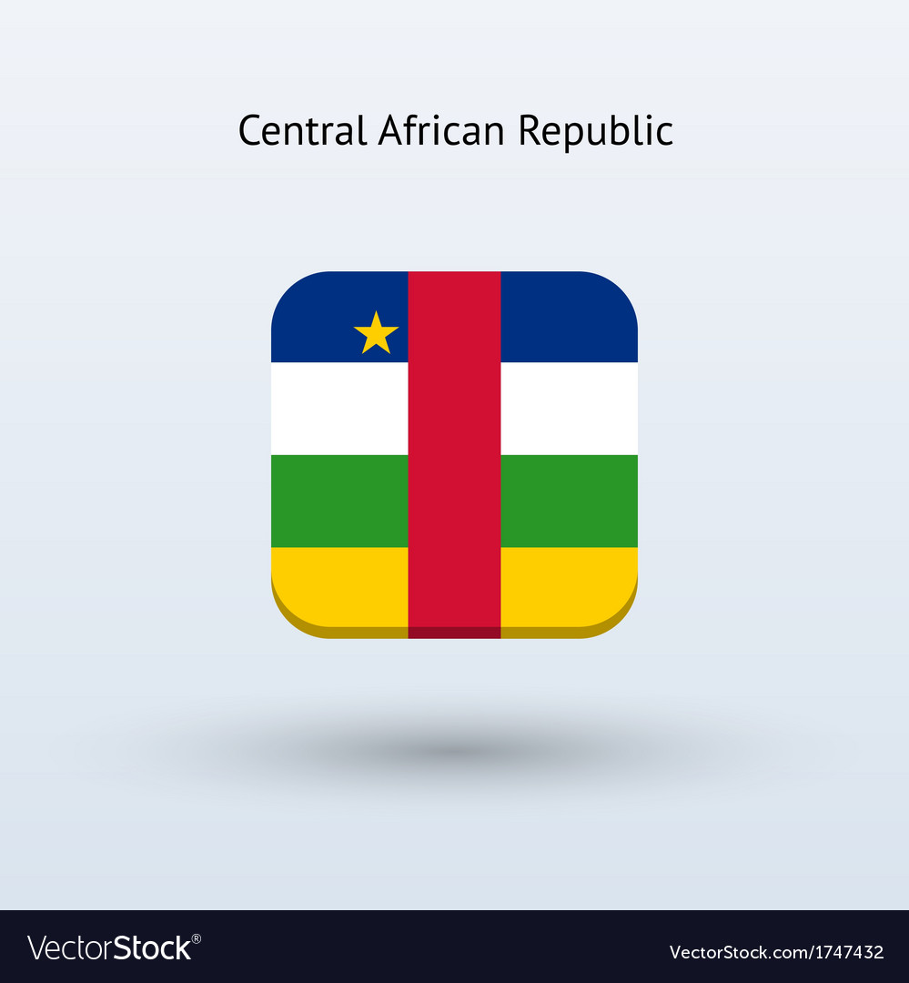 Central african republic flag icon vector | Price: 1 Credit (USD $1)