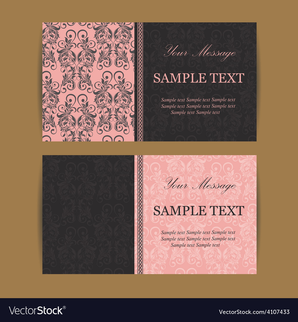 Business cards set vector | Price: 1 Credit (USD $1)