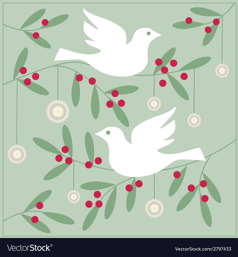 Doves vector | Price: 1 Credit (USD $1)