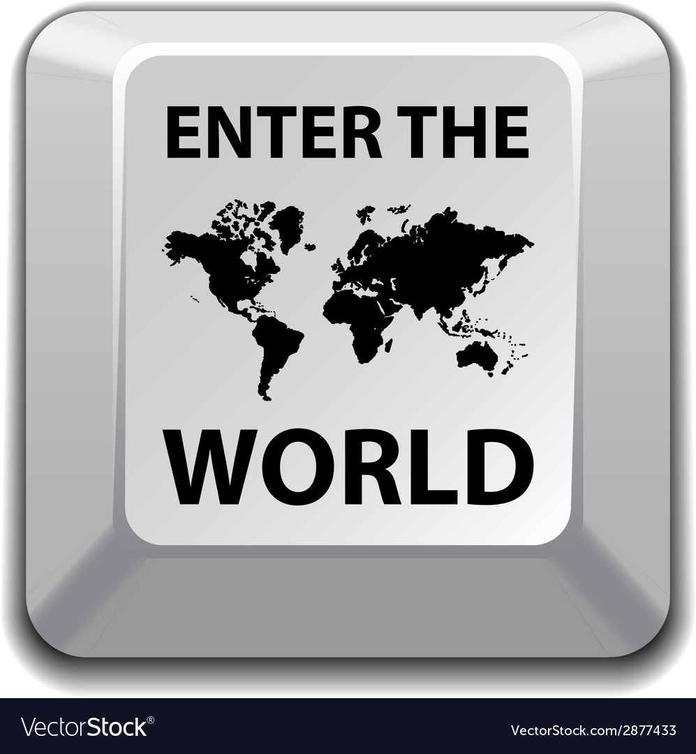 Enter the world key vector | Price: 1 Credit (USD $1)