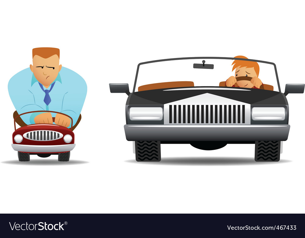 Funny drivers vector | Price: 3 Credit (USD $3)
