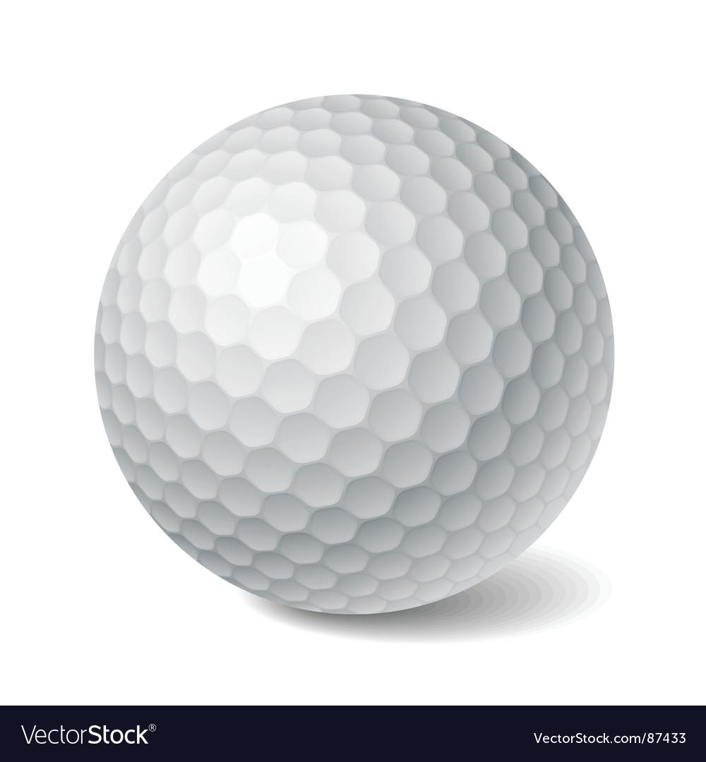 Golf ball vector | Price: 1 Credit (USD $1)