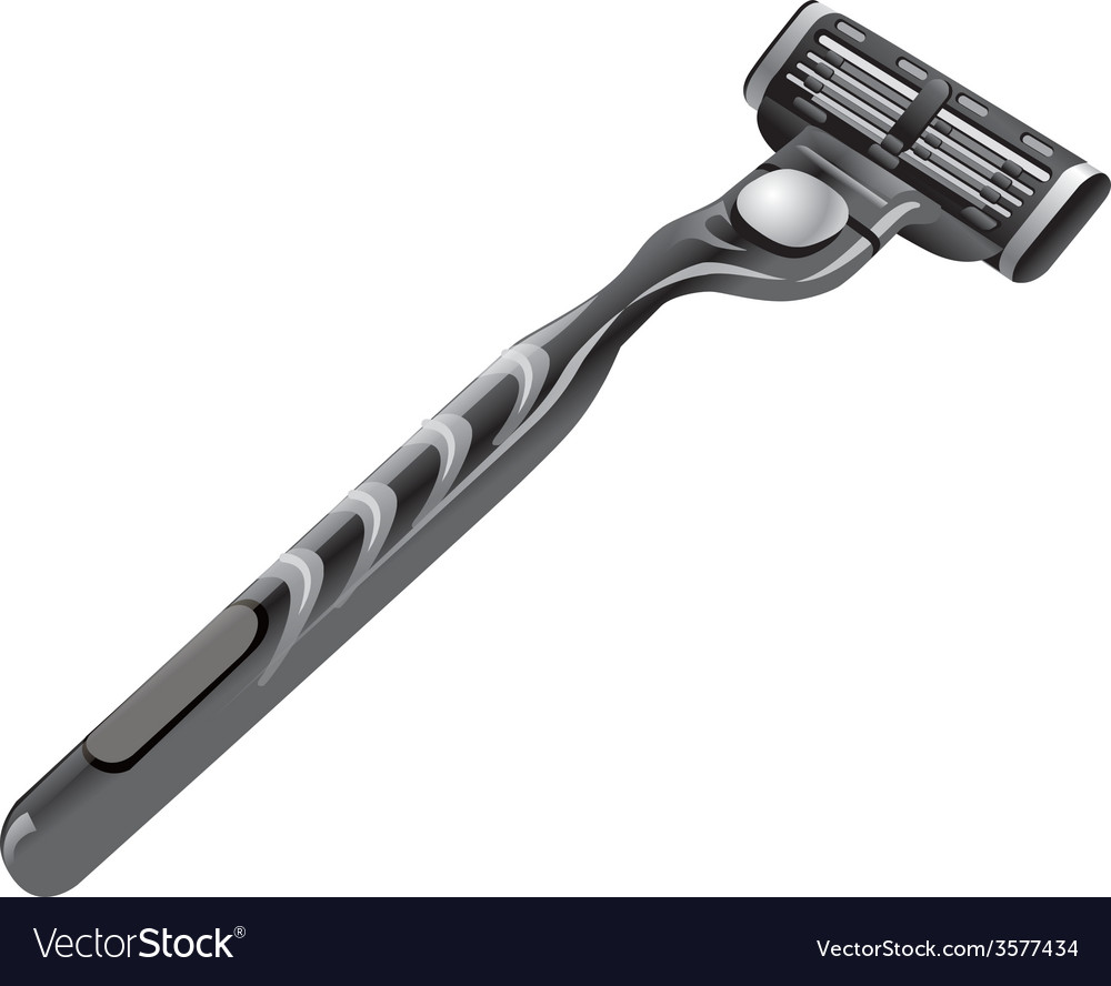 Shaving razor vector | Price: 3 Credit (USD $3)