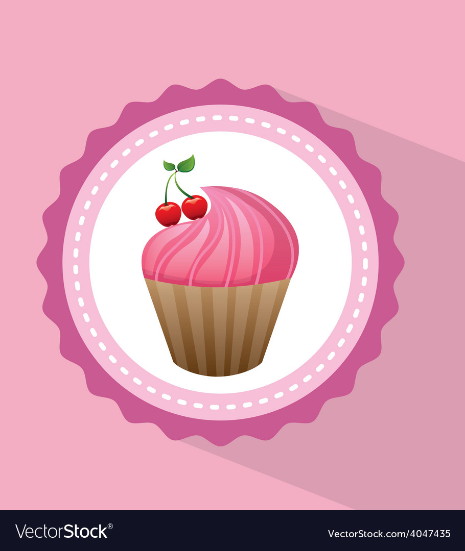 Sweet dessert vector | Price: 1 Credit (USD $1)