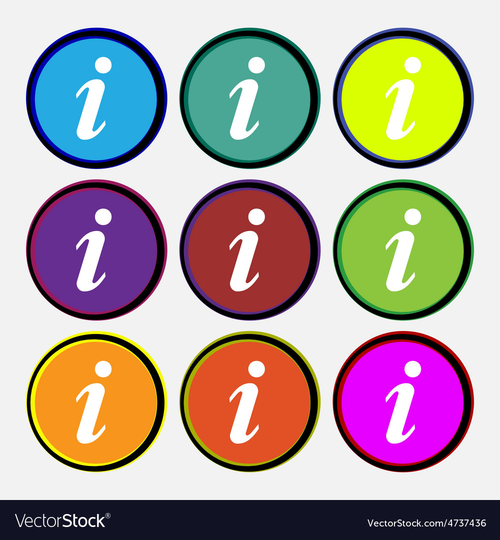 Information info vector | Price: 1 Credit (USD $1)