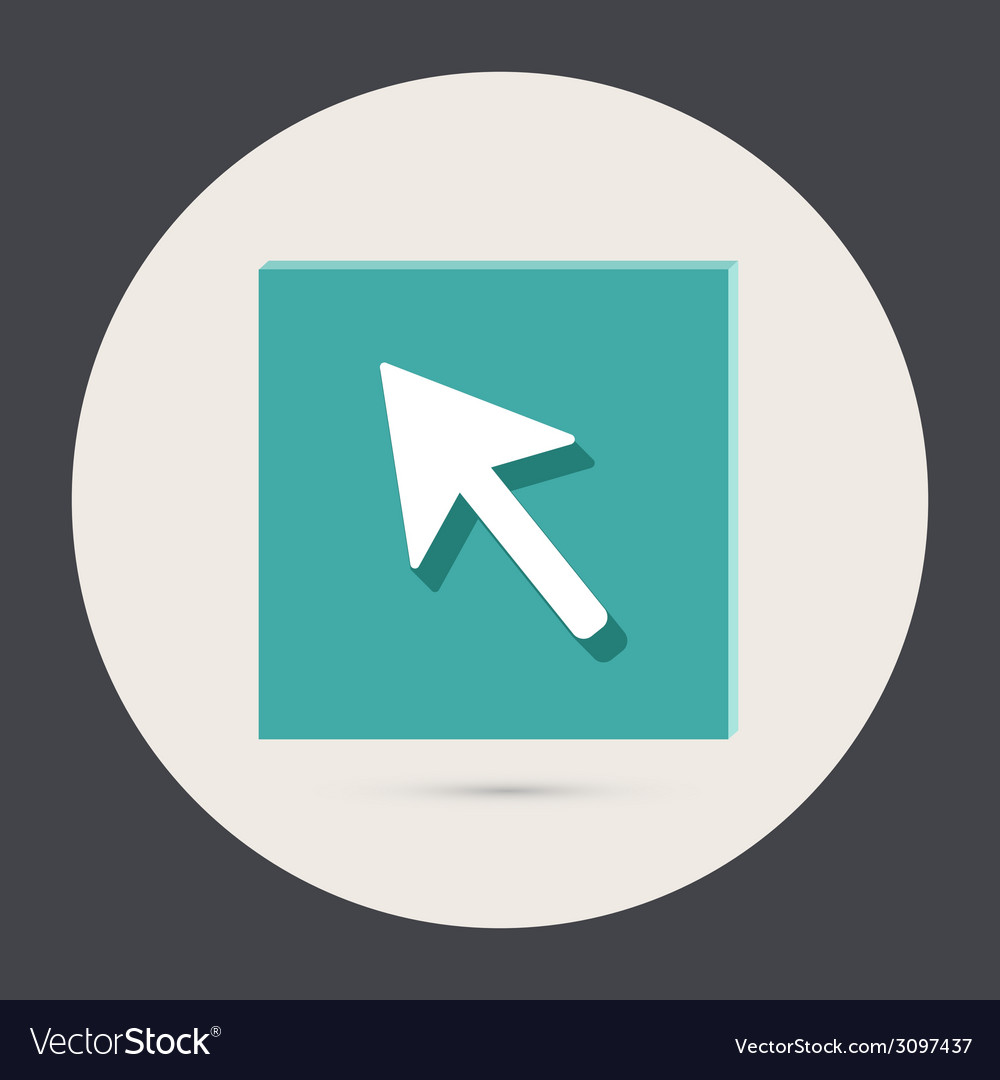 Web arrow vector | Price: 1 Credit (USD $1)