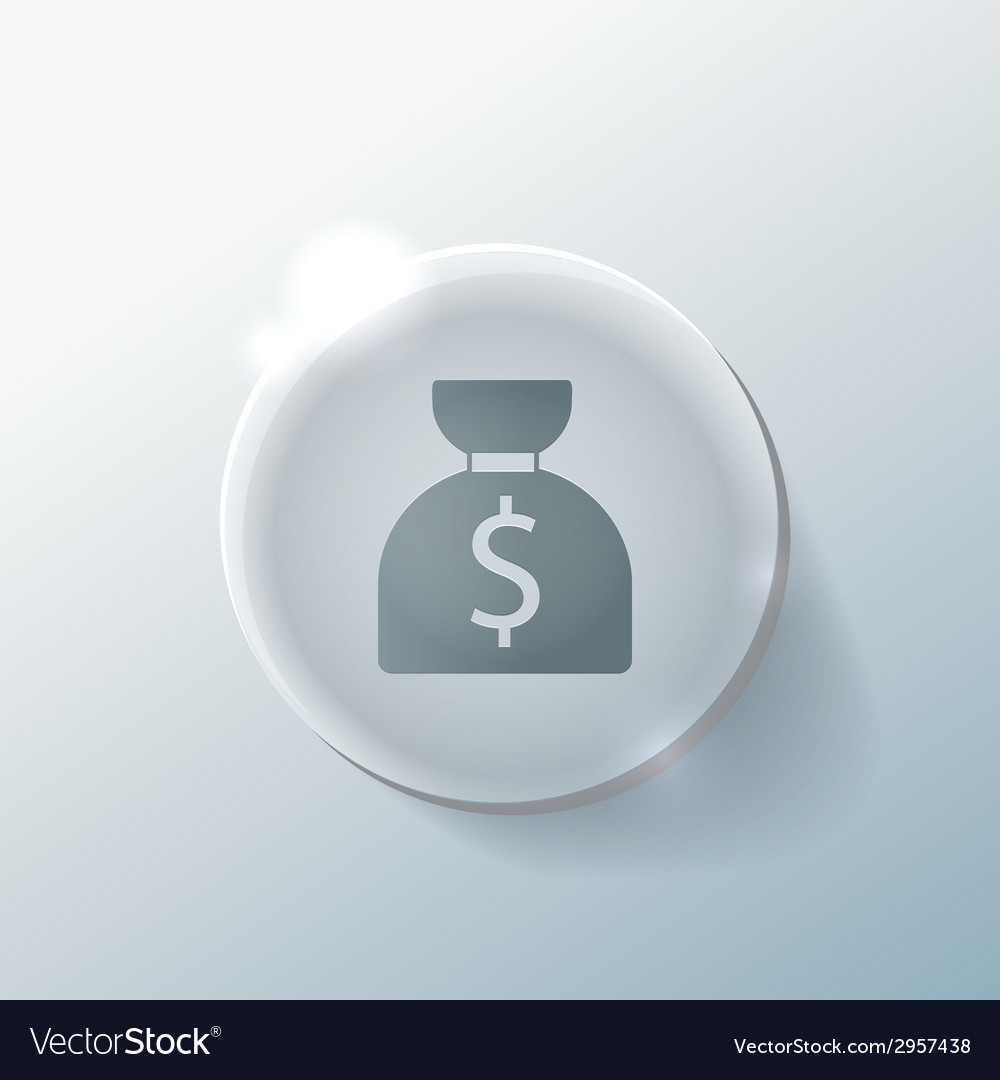 Bag of money vector | Price: 1 Credit (USD $1)