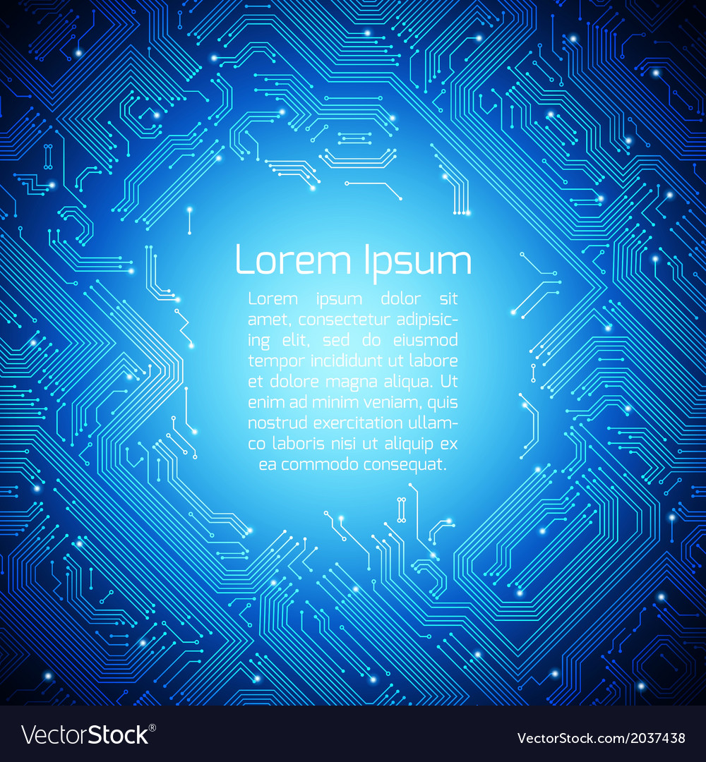 Circuit board background vector | Price: 1 Credit (USD $1)