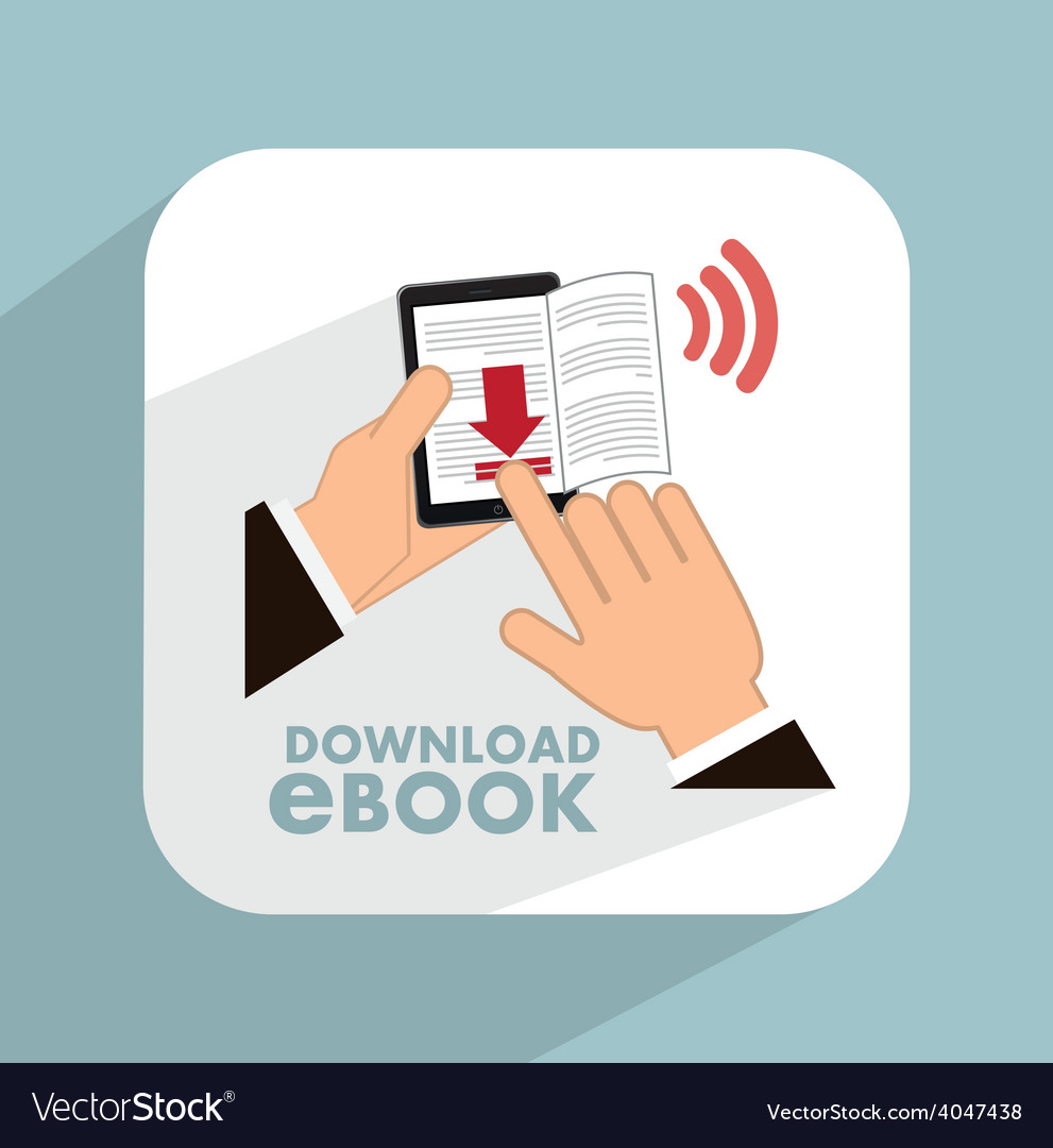 E-book concept vector | Price: 1 Credit (USD $1)