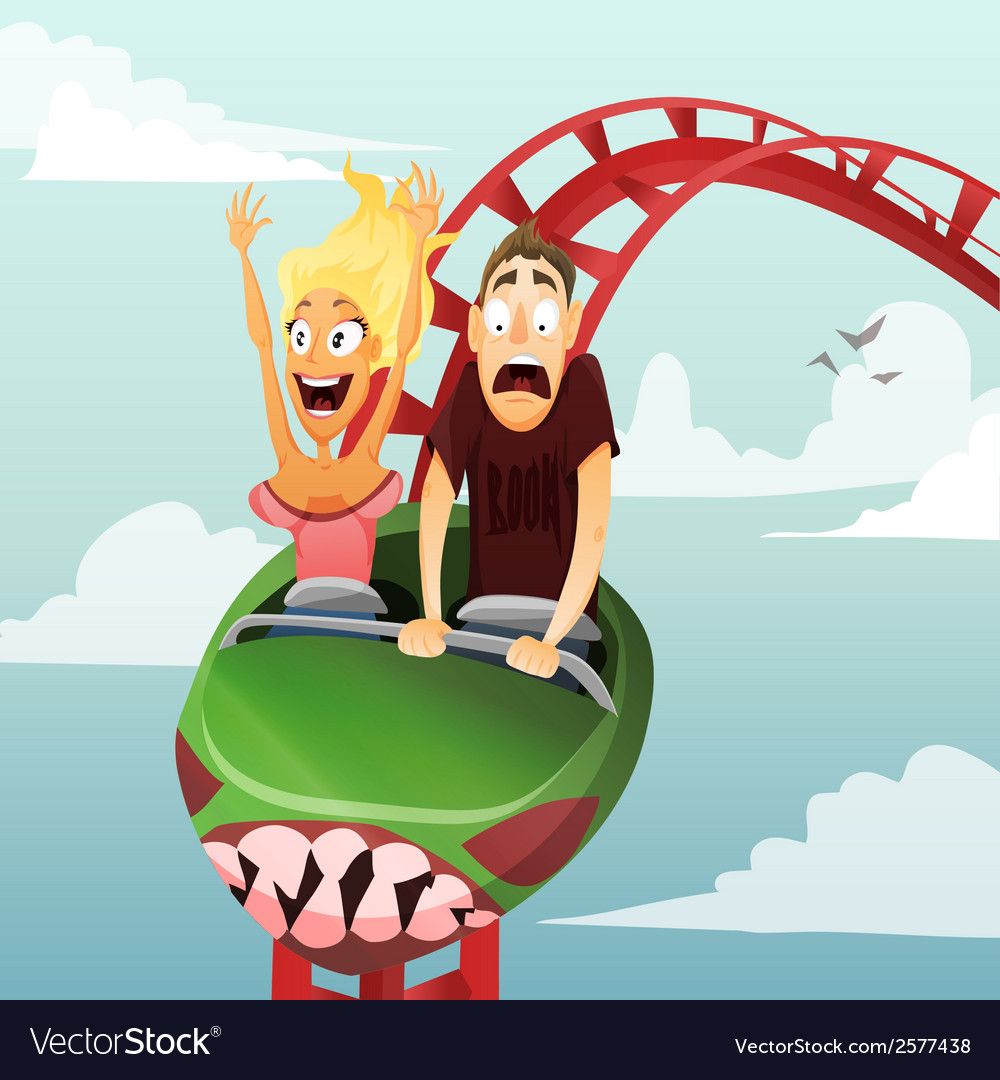 Roller-coaster vector | Price: 3 Credit (USD $3)